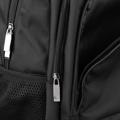 254-208 Рюкзак 42x30x20 см, 3 отделения, усиленная ручка, черный
