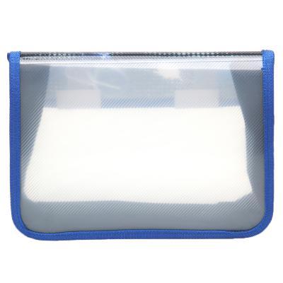 236-021 Спидвей Папка для тетрадей А5 на липучке с клапаном, 400мкр, пластик
