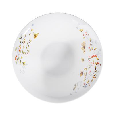 821-023 Бабочки Салатник, 20см, фарфор
