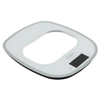 268-050 LEBEN Весы кухонные электронные, раздвижные, сенсор, макс.нагр.5кг(точн.измер.1гр), металл