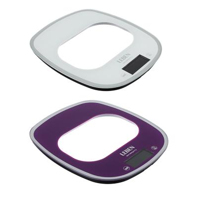 Весы кухонные электронные, раздвижные, сенсор, макс.нагр.5кг(точн.измер.1гр), металл
