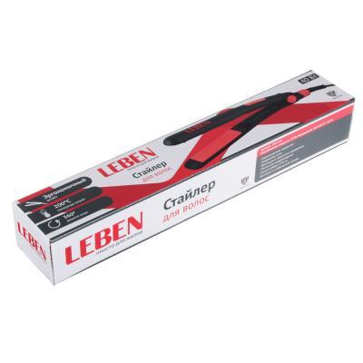 259-145 Утюжок для волос LEBEN, max 200°, эргономичная ручка, керамическое покрытие