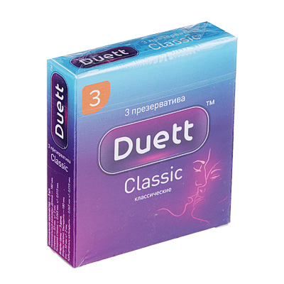 360-142 Презервативы DUETT classic №3