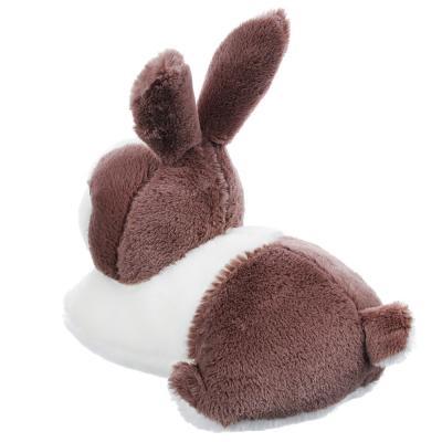264-213 МЕШОК ПОДАРКОВ Игрушка мягкая в виде крольчонка, полиэстер, 32-35см, 4-6 цветов