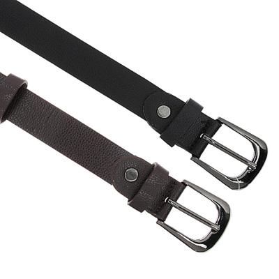 311-371 PAVO Ремень для мальчиков, ПУ, сплав, длина 80/90см, ширина 2,2см, 2 цвета, РД19-7
