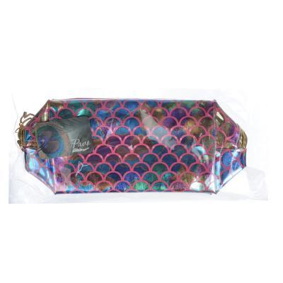 327-255 PAVO Косметичка, ПВХ, 17х10,5х7,5см, 4 цвета, ББ19-18