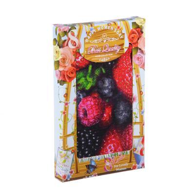 434-061 Полотенце кухонное вафельное 40х75см, в подарочной коробке, 6 дизайнов, ПВ40х75