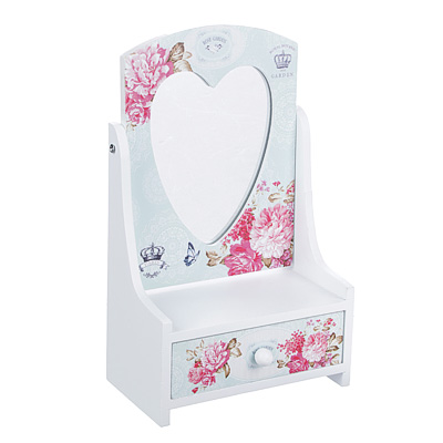 """504-616 Шкатулка для украшений """"Розовый сад"""", 13,5х7х22 см, МДФ"""