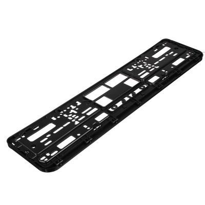 776-059 NEW GALAXY Рамка автомобильного номера, пластик, шелкография RUSSIA, черный, 53,6х13,1см