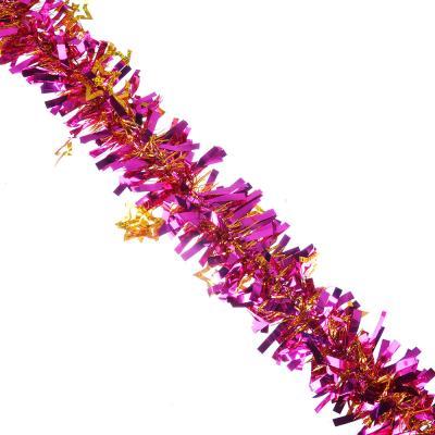 377-354 Мишура СНОУ БУМ 200х9 см, ПВХ, 6 цветов, арт 26-4