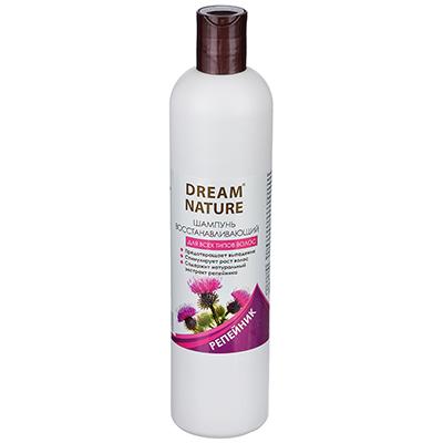 """974-076 Шампунь для волос Dream Nature, укрепляющий """"Крапива, Репейник"""", 400 мл, арт 1425"""
