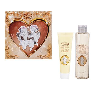 937-065 Набор подарочный женский Skin Juice, шампунь White Musk+крем для лица White Musk, AN-1705