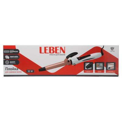 259-155 Плойка для волос LEBEN d.19 мм, 35 Вт, керамическое покрытие