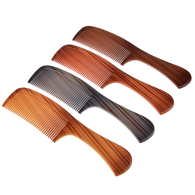 319-135 Расческа-гребень, пластик, 22,3х5см, 4 цвета