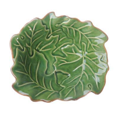 """824-075 Салатник 13,5х12,5х4,5 см, керамика, MILLIMI """"Флора"""""""