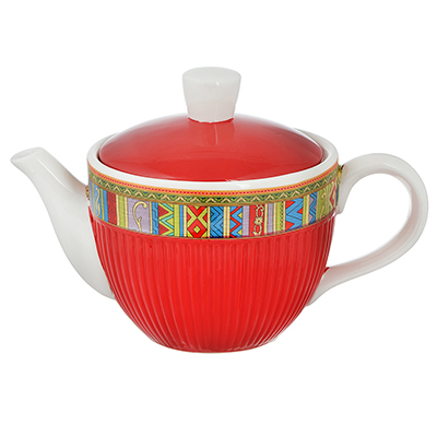 """824-110 Чайник заварочный 830 мл, керамика, MILLIMI """"Этника"""""""