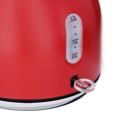 291-081 Чайник электрический 2,0 л LEBEN, 2200 Вт,нержавеющая сталь, красный