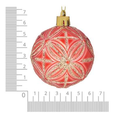 373-186 Елочные шары набор 6 шт СНОУ БУМ, 6 см, пластик, 5 дизайнов