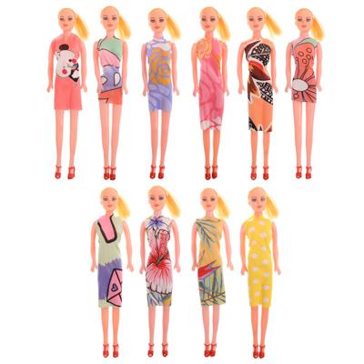 267-810 ИГРОЛЕНД Кукла 29 см в пакете, ПВХ, 33х9х4см, 10 дизайнов