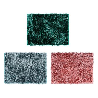 "462-646 Коврик для ванной, синель, 3,5 см, 40х60 см, 3 цвета, VETTA ""Перламутр"""