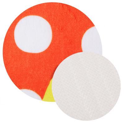 462-656 Набор ковриков для ванной и туалета, флис, губка, 1,2 см, 50x80 см + 50x40 см, 2 дизайна, VETTA