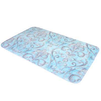 462-662 VETTA Коврик для ванной, флис, принт, губка, 0,4см, 50x80см, 3 дизайна