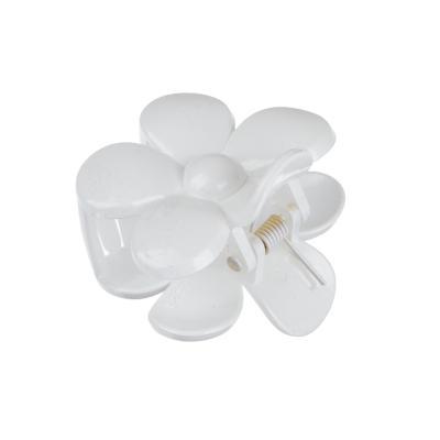 324-136 Заколка-краб, пластик, 4,5см, 2 дизайна, 2 цвета