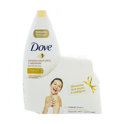 951-066 Гель для душа DAVE с драгоценными маслами 250 мл + мочалка