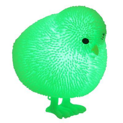 """297-053 LASTIKS Игрушка резиновая """"Пушистик"""" в виде животного, свет, 8-11х8-9см, резина, 4-8 дизайнов"""