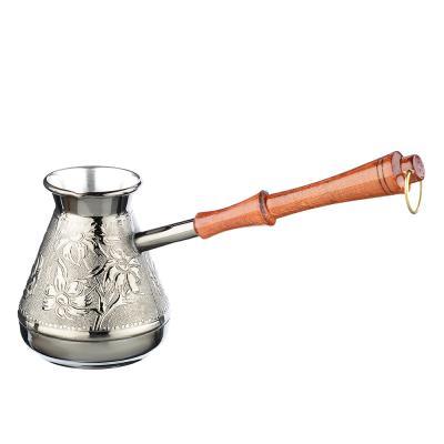 847-076 Турка для кофе 400 мл медная, 2 дизайна