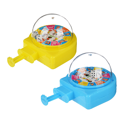 897-045 ИГРОЛЕНД Игра настольная в виде рулетки, пластик, 11х7х6см, 2 дизайна