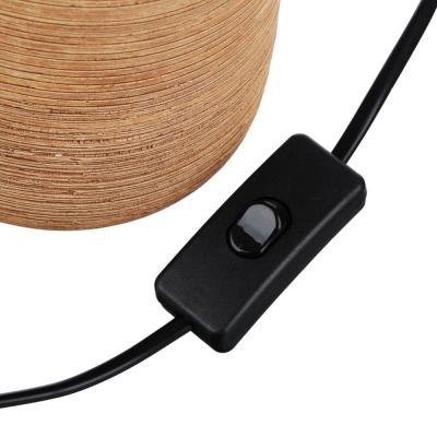 Лампа настольная, 30см, E27, 60Вт, керамика, текстиль, 3 цвета-2