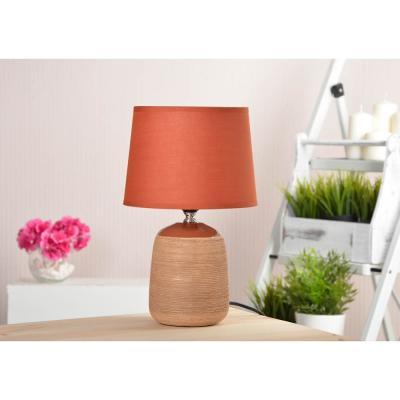 Лампа настольная, 30см, E27, 60Вт, керамика, текстиль, 3 цвета-4