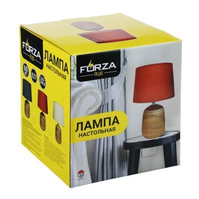 Лампа настольная, 30см, E27, 60Вт, керамика, текстиль, 3 цвета-5