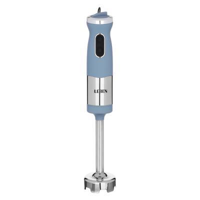 269-028 Блендер-комбайн кухонный LEBEN 800Вт, пластик, бордо, софт тач