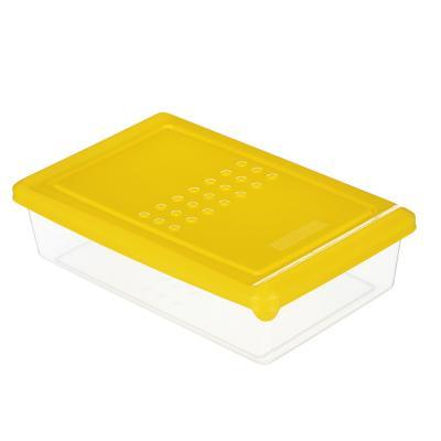 861-267 Набор пищевых контейнеров 3 шт, 0,75 л, пластик, желтый, салатовый