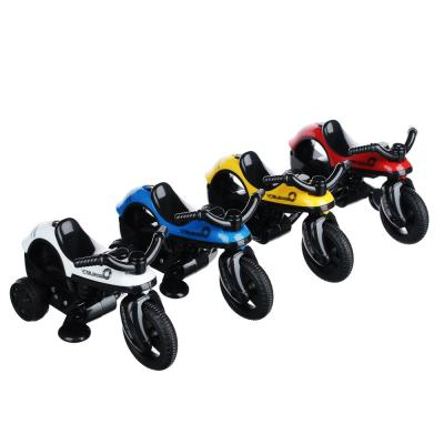 292-170 ИГРОЛЕНД Мини-мотоцикл, инерция, свет, звук, пластик, 14х8х6см, 4 дизайна
