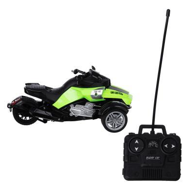 293-034 ИГРОЛЕНД Трицикл на радиоуправлении, 5АА, пластик, 20,5х12х8,8см,4 дизайна