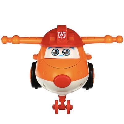 292-175 ИГРОЛЕНД Самолет инерционный, трансформация при столкновении, пластик, 11х5х6см, 3 дизайна