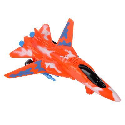 292-177 ИГРОЛЕНД Самолет инерционный со складными крыльями, пластик, 14х4х10см, 3 дизайна
