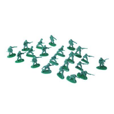 296-060 ИГРОЛЕНД Набор солдатиков 20шт., пластик, 14х22х2см