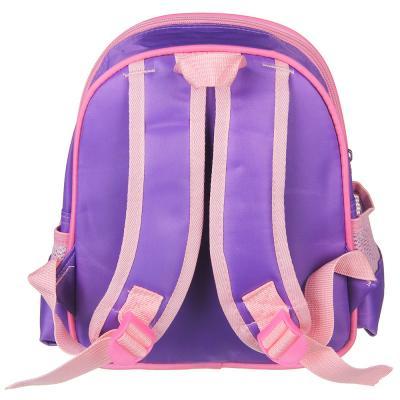 254-212 Рюкзак школьный Джуниор Стикерс  26x25x12,5см, 1отдение, 3 карана, уплотненные лямки полиэстер