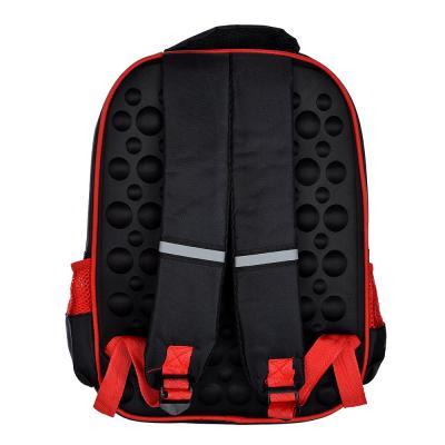 254-218 Рюкзак школьный Суперкар 38x31x16см, 2 отделения, 2 кармана, полиэстер
