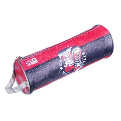 238-114 Гамшуз Пенал, мягкий круглый, 21х7х7см, ПВХ 0,8мм, с ручкой, с антисминаемым вкладышем