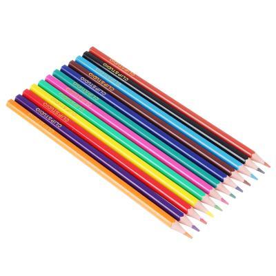 228-113 Спидвей Карандаши, 12 цветов, шестигранные заточенные, пластик, в карт.коробке с подвесом