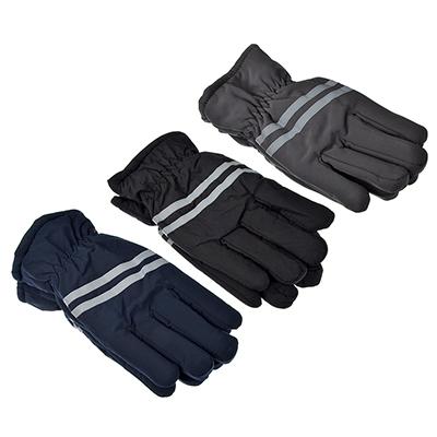 363-179 Перчатки мужские горнолыжные, размер универсальный,100% полиэстер, 3 цвета