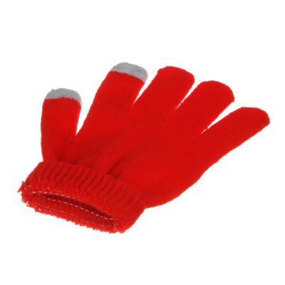 363-200 Перчатки молодежные контактные, размер универсальный, 100% полиэстер, 4-6 цветов