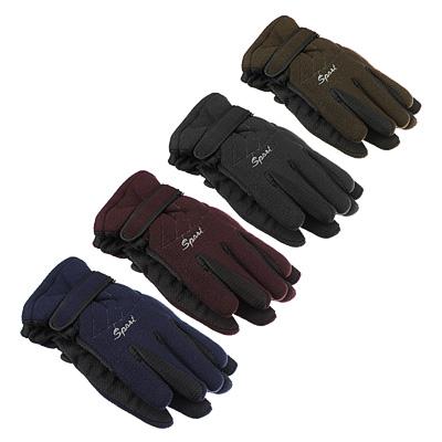 363-211 Перчатки мужские, размеры M/L, 100% полиэстер, 4 цвета