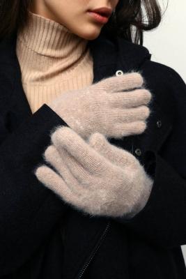 363-236 Перчатки женские, 10% ангора, 90% акрил, размер универсальный, 3 цвета
