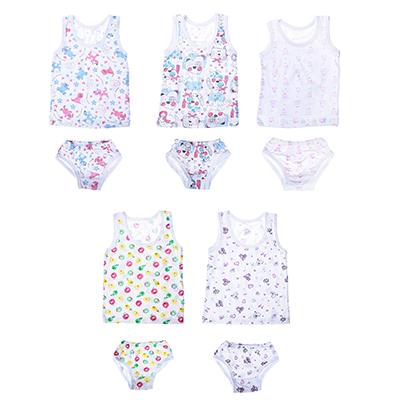 331-111 Комплект детского белья для девочек (майка+трусы), рост 86-140, 100 % хлопок
